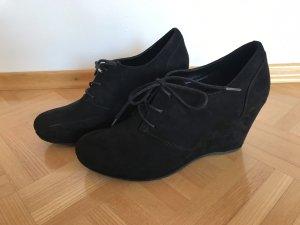 Hohe Geschlossene Schuhe Schwarz