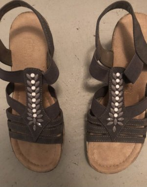 Hohe Sandalette