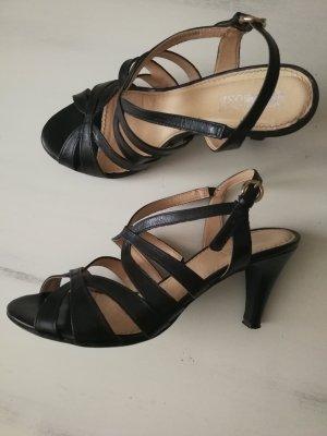 Hohe Sandalette von Pier One, schwarz, Größe 40