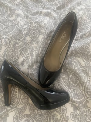 s.Oliver High Heels black