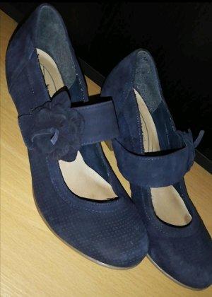 5th Avenue High Heels blue-dark blue