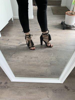 Hohe Schuhe Black