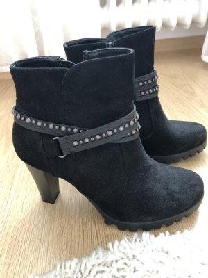 Winter Booties black-grey