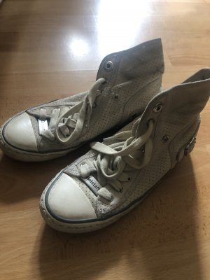 Belstaff High Top Sneaker light grey-oatmeal