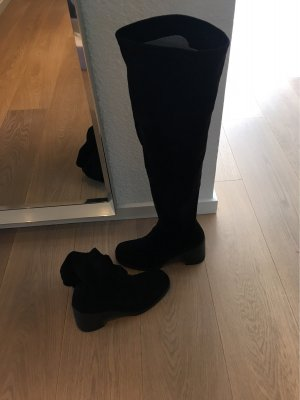 hohe Stiefel