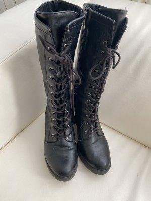 Marco Tozzi Combat Boots black