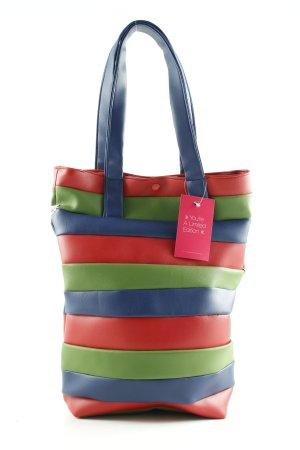 Hohwaldmädchen Handtasche Streifenmuster Casual-Look