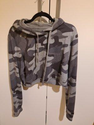 Hollister Camicia con cappuccio grigio