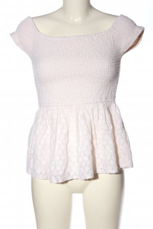 Holister Rüschen-Bluse pink Casual-Look
