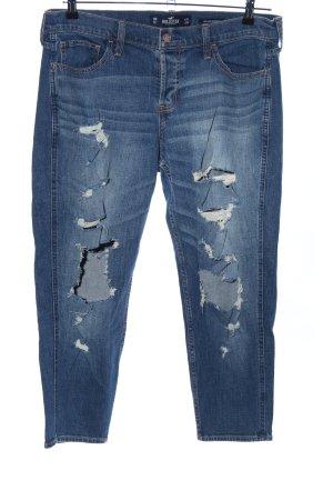 Hollister 3/4 Jeans blau Casual-Look