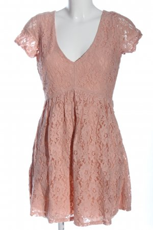 Hollister Sukienka o kroju litery A różowy W stylu casual