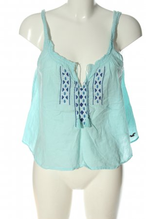 Hollister A Line Top turquoise casual look