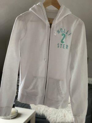 Hollister Giacca fitness bianco-turchese