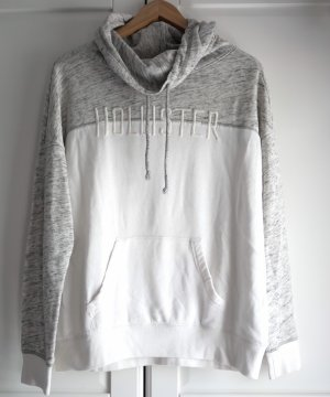 Hollister Jersey largo blanco-gris claro