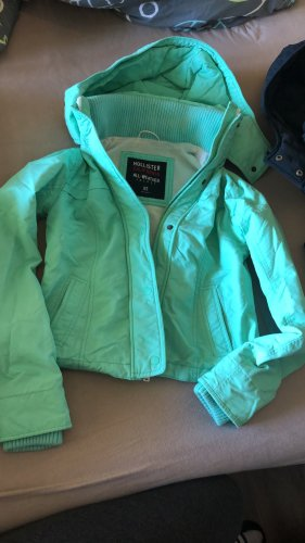 Hollister all weather jacket mint