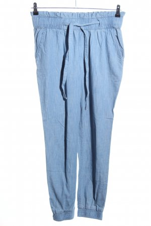 Hollister Baggy Pants blau meliert Casual-Look