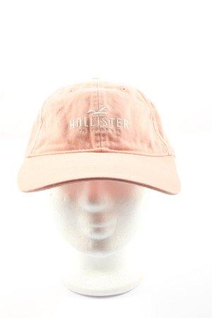 Hollister Casquette gavroche rose style décontracté
