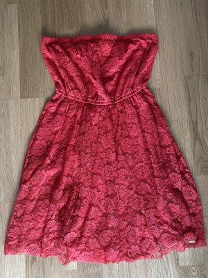 Hollister Robe bandeau rouge
