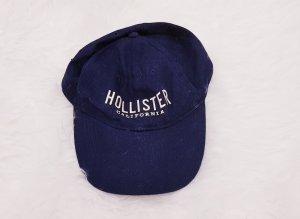 Hollister Gorra de béisbol azul-azul oscuro