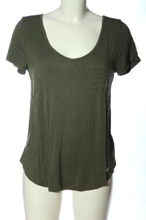 Hollister Basic-Shirt khaki Casual-Look