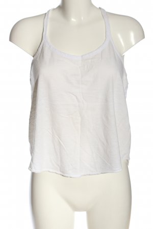 Hollister Basic topje wit casual uitstraling