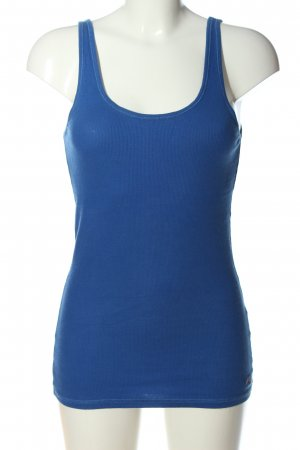 Hollister Basic Top blau Casual-Look