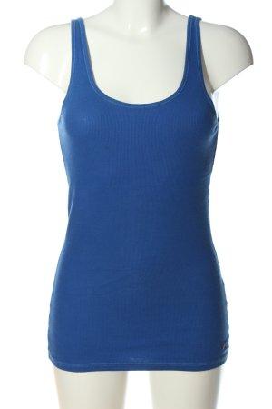 Hollister Top basic niebieski W stylu casual