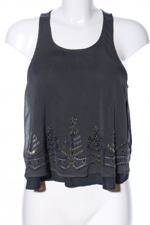 Hollister Basic Top schwarz Casual-Look
