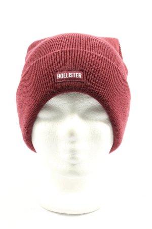 Hollister Czapka typu beanie czerwony W stylu casual