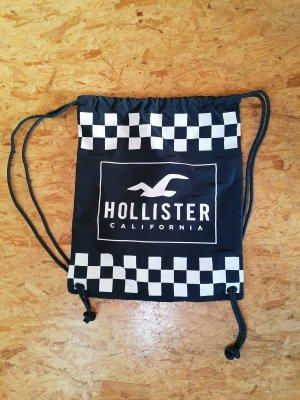 Hollister Sporttas wit-donkerblauw