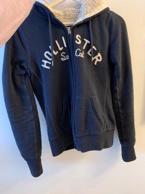 Hollister Gilet polaire bleu foncé