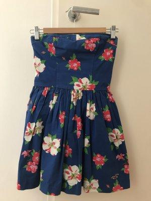 Hollister Bandeau Dress multicolored cotton