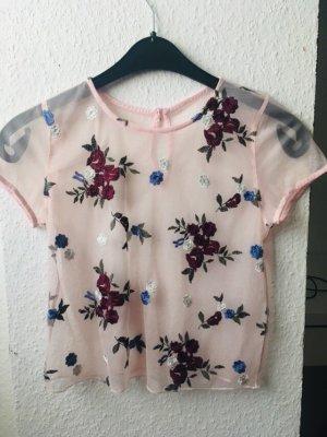 Hollister Blumenshirt
