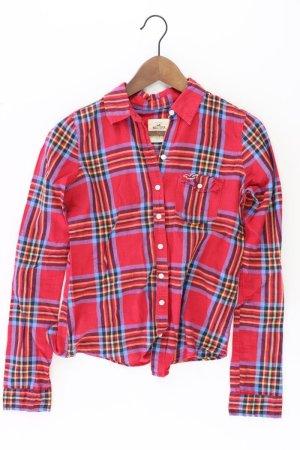 Hollister Bluse Größe 36 rot aus Baumwolle