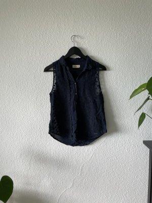 Hollister Bluse in dunkelblau