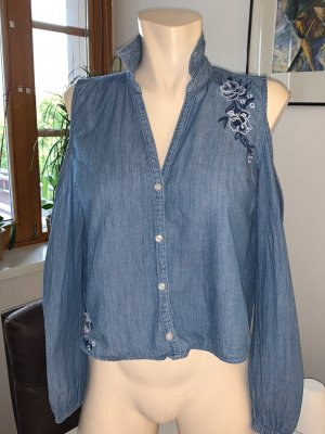Hollister Bluse mit Stickerei Gr. M (38)TOP