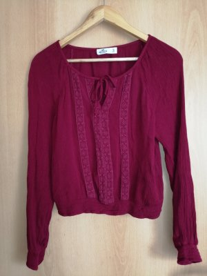 Hollister Bluse Rot S