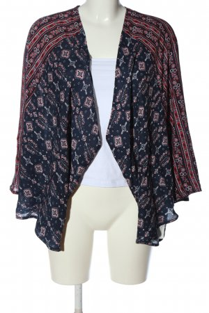 Hollister Blouse Jacket abstract pattern casual look