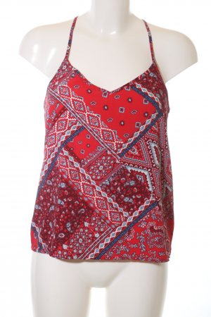 Hollister Blusentop abstraktes Muster Casual-Look