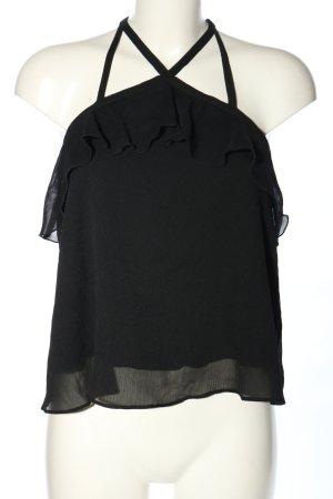 Hollister Blouse topje zwart casual uitstraling