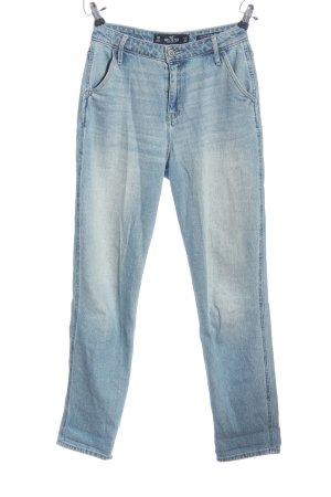 Hollister Boyfriend jeans blauw casual uitstraling