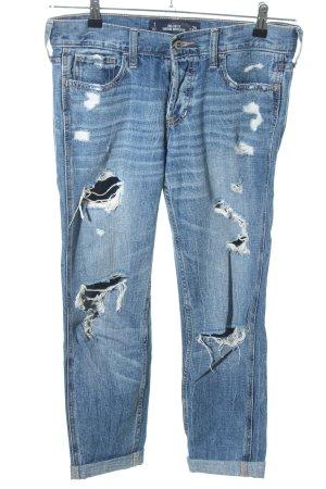 Hollister Jeans boyfriend blu stile casual