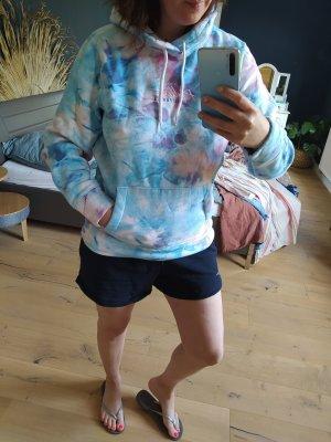 Hollister California Sweatshirt Sweat Sweater Hoodie Batik Dye Kapuze Pulli