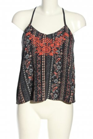 Hollister Camisole abstract patroon casual uitstraling