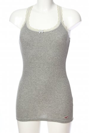 Hollister Camisole hellgrau meliert Casual-Look