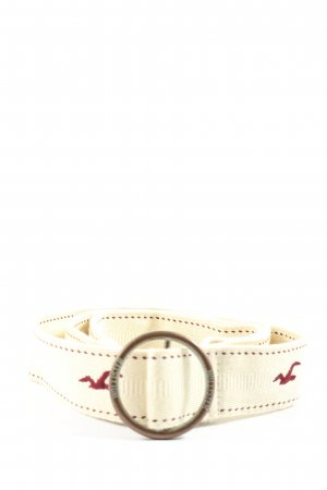 Hollister Canvas Belt white casual look