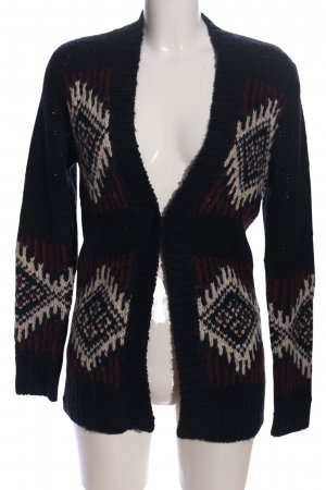 Hollister Cardigan grafisches Muster Casual-Look