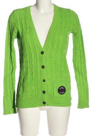 Hollister Cardigan grün Casual-Look