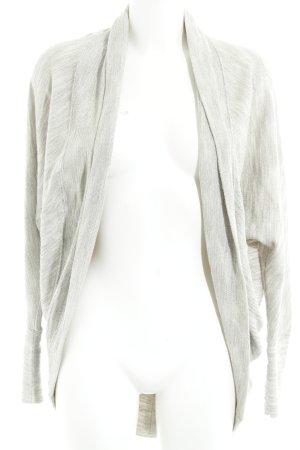 Hollister Cardigan hellgrau-wollweiß meliert Casual-Look