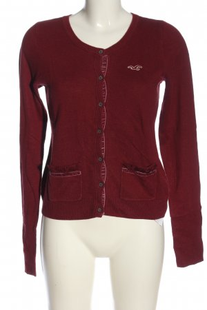 Hollister Cardigan rot Casual-Look